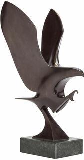 """Skulptur """"Kleiner Adler"""", Bronze"""