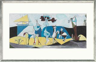 """Bild """"Die Freude des Lebens"""" (1946), gerahmt"""