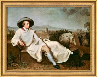 "Bild ""Goethe in der Campagna"" (1786/87), gerahmt"