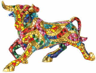 "Mosaikfigur ""Stier"""