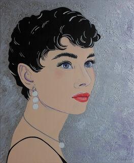 "Bild ""Audrey"" (2019) (Unikat)"