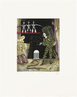 "Bild ""Zauberflöte"" (1989), ungerahmt"