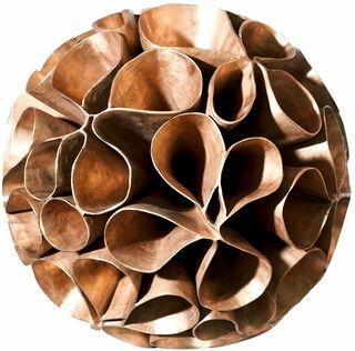 "Skulptur ""Seed - Flower Foam"" (2019) (Original / Unikat), Bronze gewachst"
