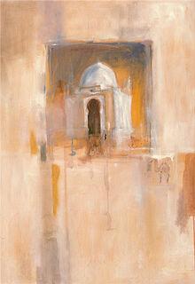 """Bild """"Ägyptische Impression"""", auf Keilrahmen"""