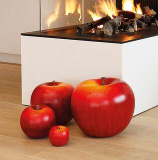 """Keramikobjekt """"Apfel rot"""" (Version Höhe 10,5 cm)"""