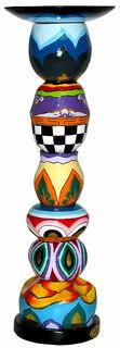 Kerzenleuchter rund (mittelgroße Version, Höhe 41 cm)