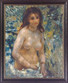 "Bild ""Torse de femme"" (um 1875/76), gerahmt"
