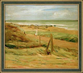 "Bild ""Dünenpromenade"" (1908), gerahmt"