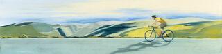 """Bild """"In Harmonie mit der Landschaft"""" (2020) (Original / Unikat), auf Keilrahmen"""