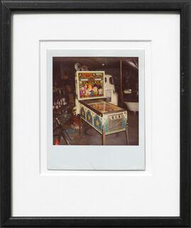 """Bild """"Flipperautomat""""(1970/80)"""