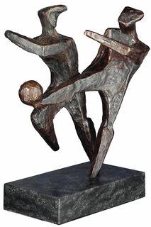 """Skulptur """"Das Wunder von Bern"""", Bronze"""