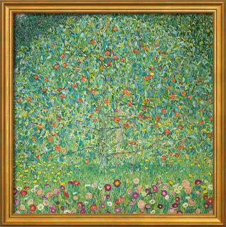 """Bild """"Apfelbaum I"""" (1912), gerahmt"""