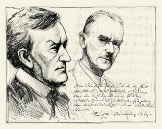 """Bild """"Liebe ohne Glauben - Thomas Mann und Richard Wagner"""" (2011), ungerahmt"""