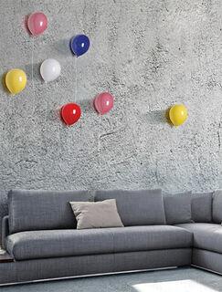 "Wandobjekt ""Ballon pink"", Keramik"