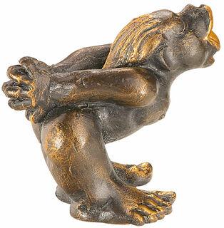 """Skulptur """"Küsschen von Ihr"""", Kunstguss"""