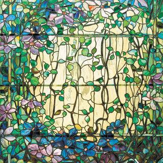 "Wandobjekt ""Clematis"", Glas - nach Louis C. Tiffany"