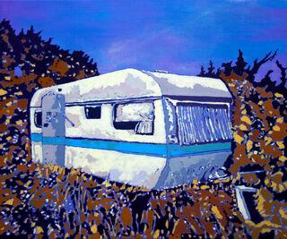"Bild ""Caravan"" (2020) (Unikat)"