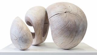 """Skulptur """"Katze"""" (2013) (Original / Unikat), Holz"""