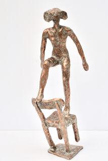 """Skulptur """"Pina-Freude"""" (2019), Bronze"""