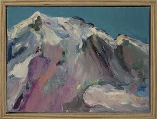 "Bild ""Gebirge II"" (2019) (Unikat)"