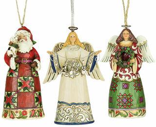 Set mit drei Weihnachts-Anhängern