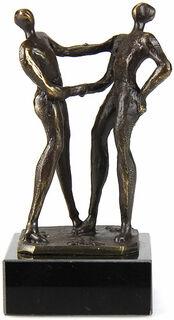 "Skulptur ""Per Handschlag"""