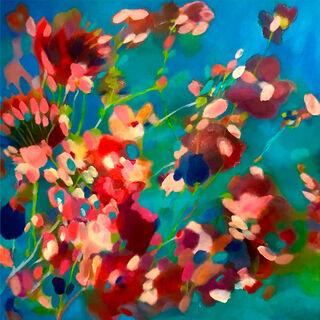 """Bild """"Frühling"""" (2021) (Original / Unikat), auf Keilrahmen"""