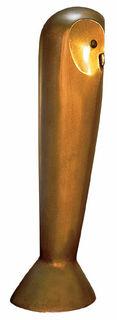 """Skulptur """"Eule der Minerva"""", Bronze"""