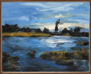 """Bild """"Havellandschaft"""" (2004) (Unikat)"""