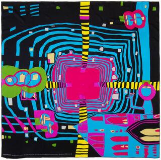 "Seidenfoulard ""Close-up of Infinity"" (1994)"