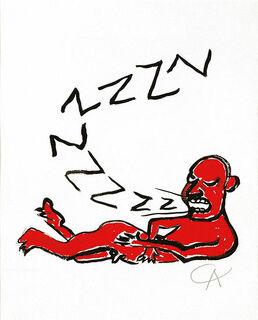 """Bild """"La Lettera Z"""", ungerahmt"""