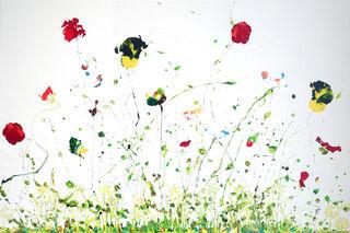 "Bild ""Erinnerungen an den Sommer"" (2021) (Unikat)"