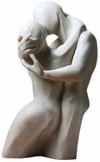 """Skulptur """"Der Kuss"""", Version in Kunstmarmor"""