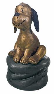 "Skulptur ""Wum"", Version in Bronze"