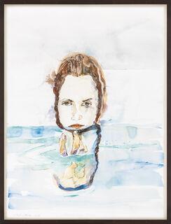 """Bild """"Halb unter Wasser"""" (2010) (Unikat)"""