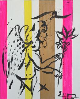 "Bild ""Ange"" (2014) (Original / Unikat), auf Keilrahmen"