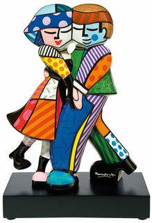 """Porzellanskulptur """"Cheek to Cheek"""" (kleine Version)"""