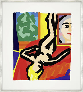 """Bild """"Nude with Picasso"""" (2000)"""