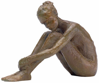"""Skulptur """"Innere Ruhe"""", Bronze"""
