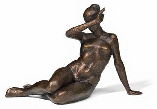 "Skulptur ""Kassandra"", Bronze"