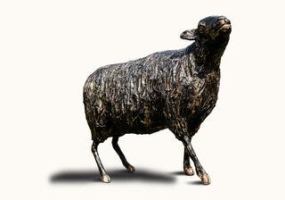 """Skulptur """"Schwarze Hilde"""" (2021)"""