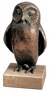 """Skulptur """"Stille Wächterin der Mondnacht"""", Bronze"""