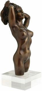 """Skulptur """"Weiblicher Akt"""", Version in Bronze"""