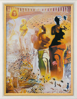 """Bild """"Der halluzinogene Torero"""" (1968-70), gerahmt"""
