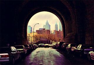 """Bild """"Tunnel II"""", ungerahmt"""