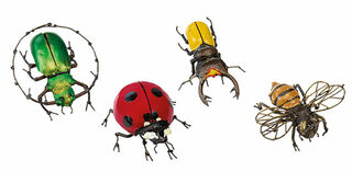 """Gartendeko """"Insektenset"""", 4-teilig"""
