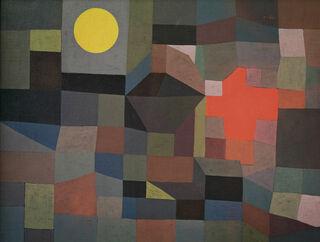 """Bild """"Feuer bei Vollmond"""" (1933)"""