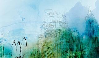 """Bild """"Summer Rain"""" (2017)"""