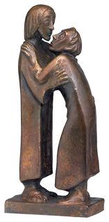 """Skulptur """"Das Wiedersehen"""" (1930), Reduktion in Bronze"""