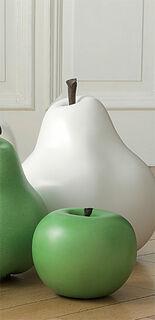 """Keramikobjekt """"Apfel grün"""" (Kleine Version)"""